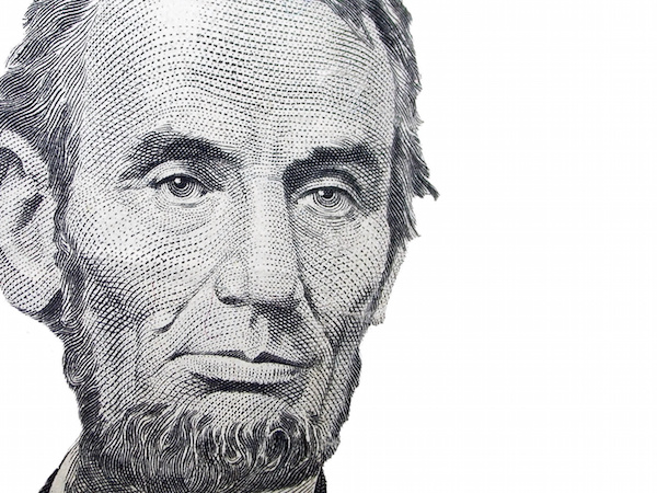 Abraham Lincoln rendering on white background, France Law Firm, wills and estate attorney