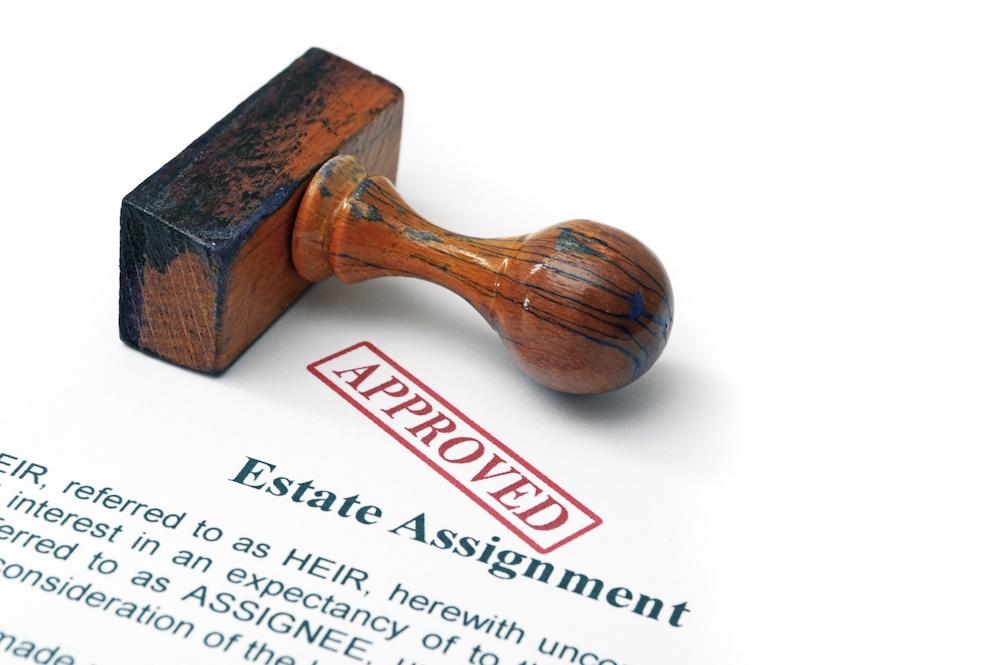 estate agreement, estate plan, approved stamp