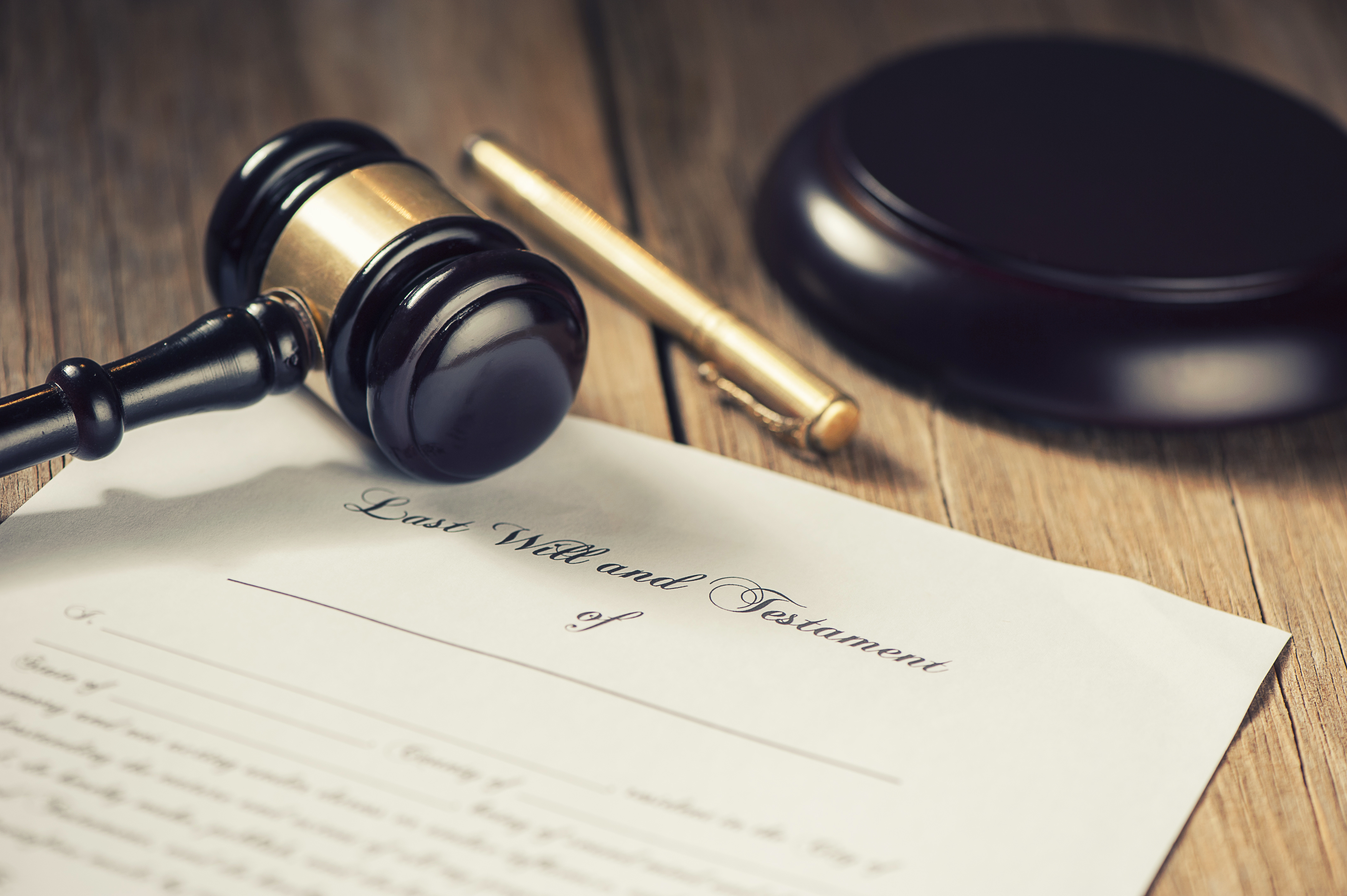 writing a will with a lawyer