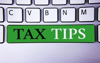 Tax Tips stay organized